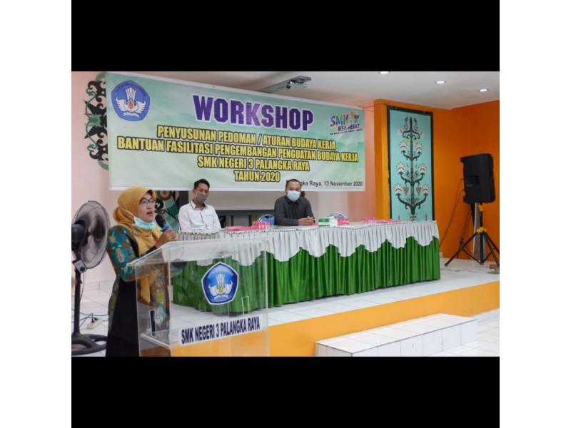 Siapkan Tenaga Kerja Profesional, SMKN 3 Palangka Raya Terapkan Pedoman Budaya Kerja